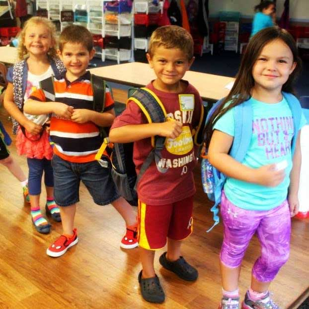 Summer camp fun at Weigelstown Child Care.